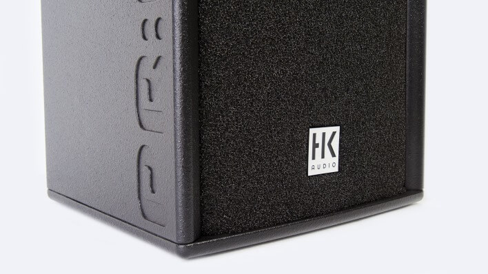 Speaker cover mad of front foam for sound improvement