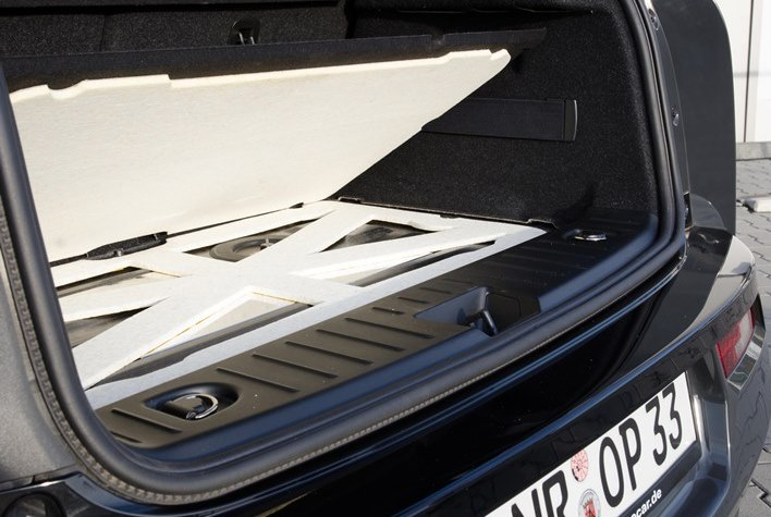 Sound insulation made of composite foam for the automotive industry